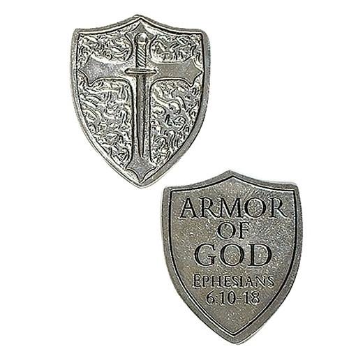 Armor of God Shield Pocket Token