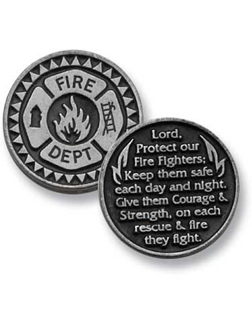 Firefightes/Fire Department Pocket Token Coin