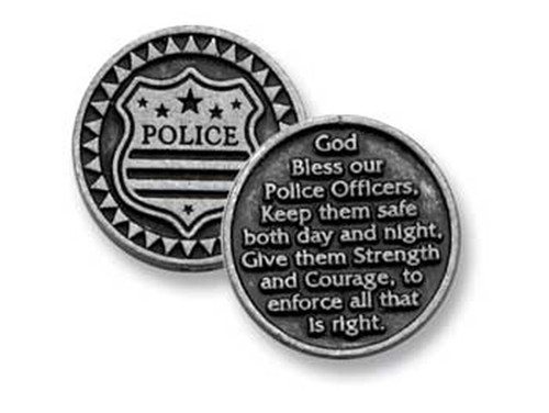 Police Pocket Token Coin