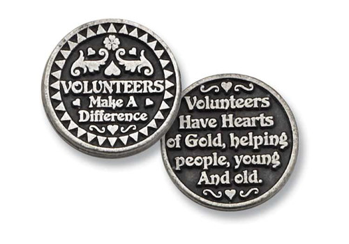 Volunteers Pocket Token Coin