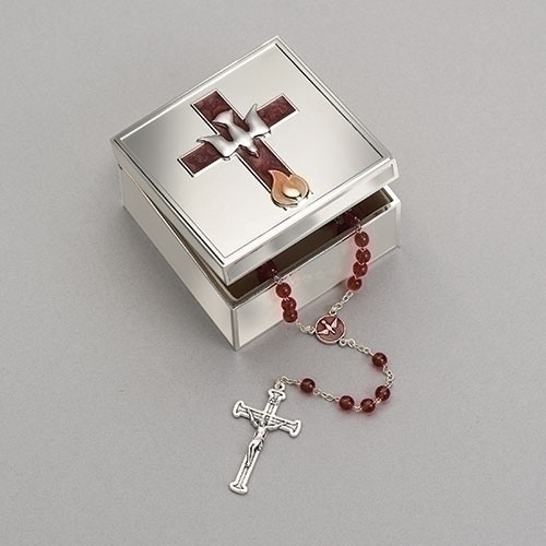 Confirmation Enamel Keepsake Box
