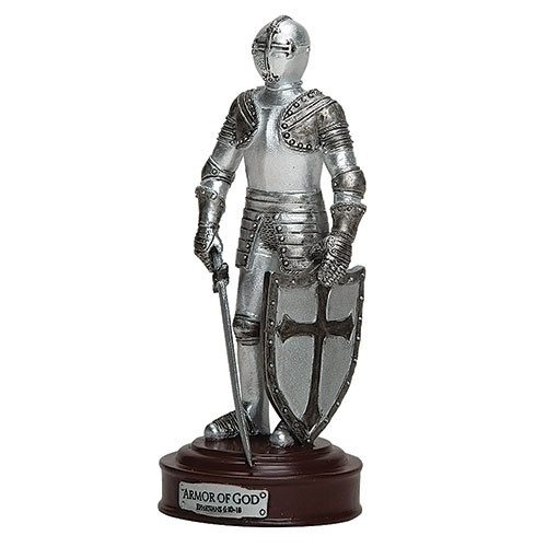 "5"" Armor of God Knight Figure"
