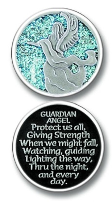 Guardian Angel Sparkle Pocket Token Coin