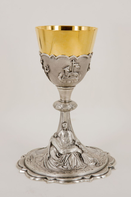 """#670 Pieta """"Deposition of Christ"""" Chalice 