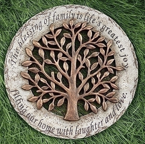 """12"""" Tree of Life Garden Stepping Stone"""