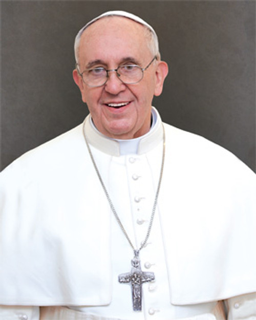"""Pope Francis Formal Print Poster 