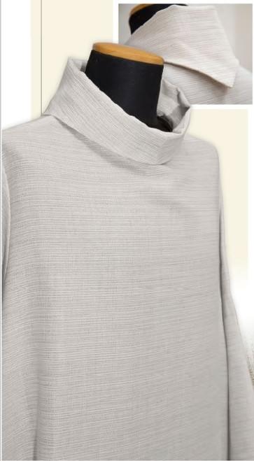 #075 Summertime Linen Alb | Pullover | Wool/Poly/Linen