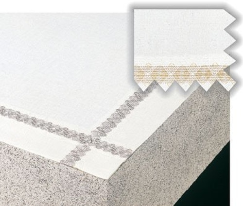 Cathedral Open Embroidery Altar Cloth | Blended Linen | Multiple Types | Custom Sizing Available