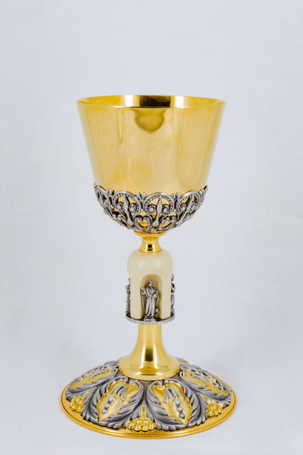 """#607 Four Evangelists Chalice 