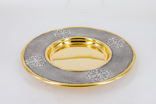 #622 Paten | Silver & 24K Gold Plated | Handmade in Italy