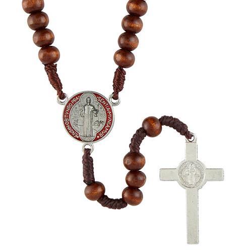 Saint Benedict Rosary | Colored Center