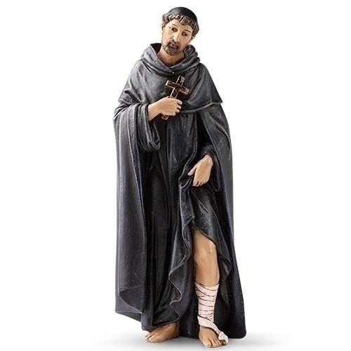 "6"" Saint Peregrine Statue | Renaissance Collection | Resin/Stone"