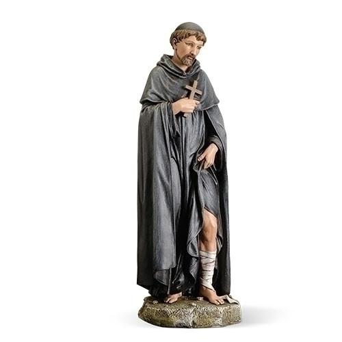 "10"" Saint Peregrine Statue | Renaissance Collection | Resin/Stone"