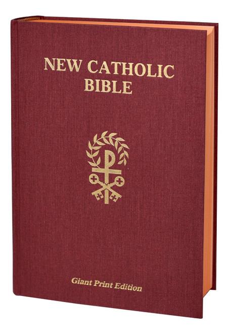 St. Joseph New Catholic Bible | Giant Type | Hardcover