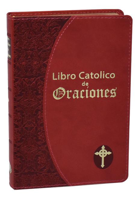Libro Catolico De Oraciones | Burgundy
