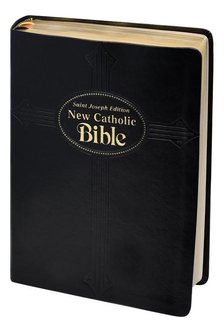 St. Joseph New Catholic Bible | Black | Large Type