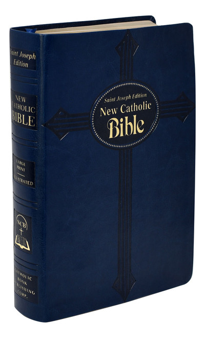 St. Joseph New Catholic Bible | Blue | Large Type