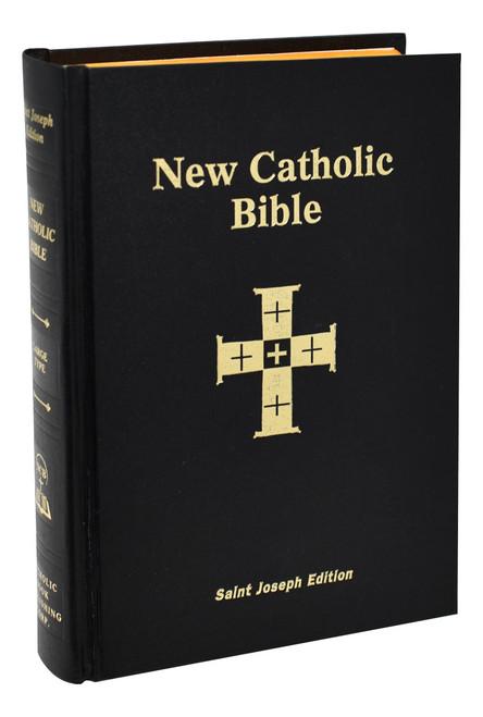 St. Joseph New Catholic Bible | Large Type | Hardcover