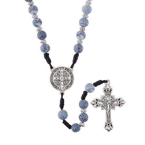 Saint Benedict Stone Rosary