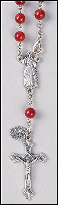 Divine Mercy One Decade Auto Rosary