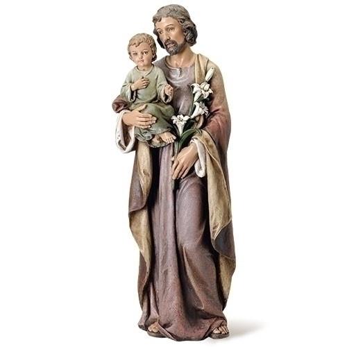 "37"" St. Joseph Statue | Renaissance Collection | Resin/Stone"