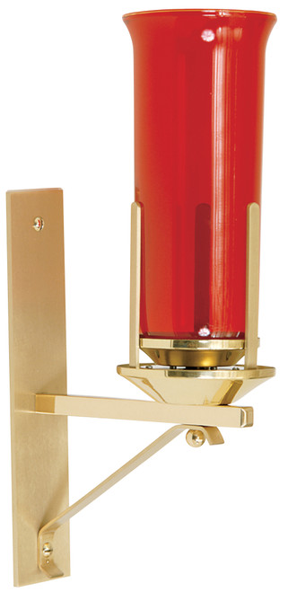 K161 Wall Sanctuary Lamp | Solid Brass