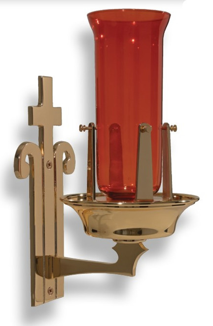 #20BSL34 Wall Mount Sanctuary Lamp | Multiple Finishes Available