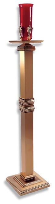 #11SSL20 Standing Sanctuary Lamp | Bronze or Wood Column