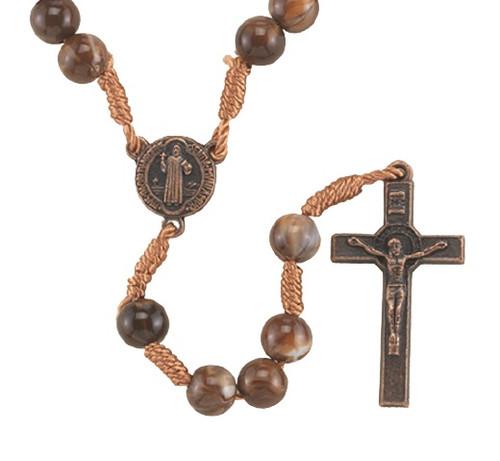 Saint Benedict Cord Rosary