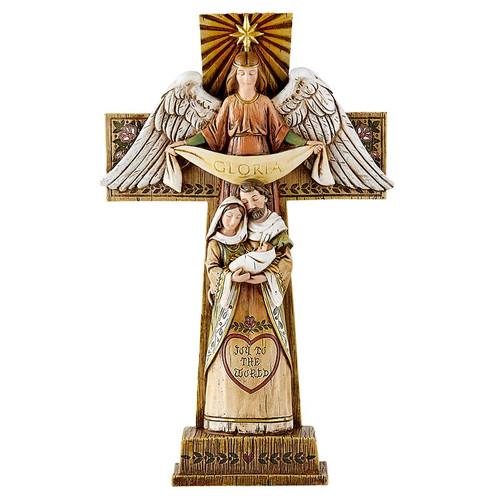 "8.5"" Gloria Angel Cross | Resin"