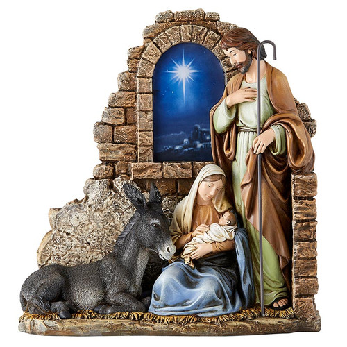 11.5'' Bethlehem Star Nativity Statue | Resin