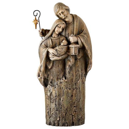 17'' Tender Holy Family Statue | Resin