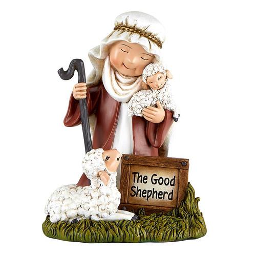 "6.5"" The Good Shepherd Pageant Figure | Resin"