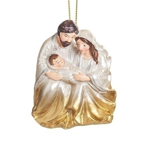 "3"" Holy Family Ornament | Resin"