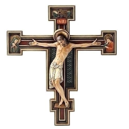 "10.25"" Florentine Crucifix | Resin"