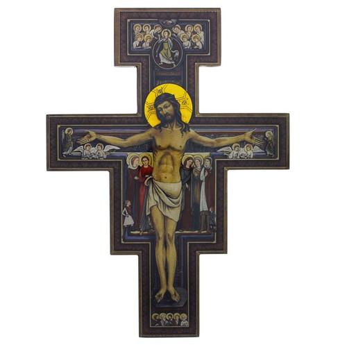 "12"" San Damiano Crucifix"