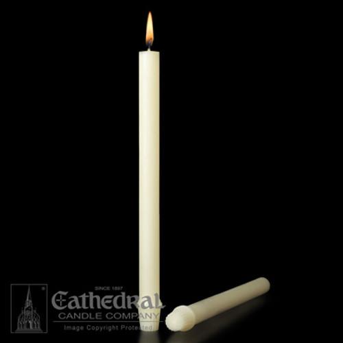 "Single 100% Beeswax 12"" Candle"