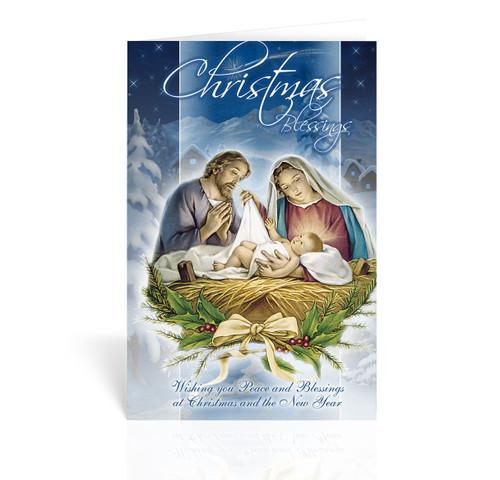 Nativity Scene Christmas Cards | Box of 10