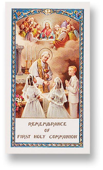 Boy/Girl Communion Prayer
