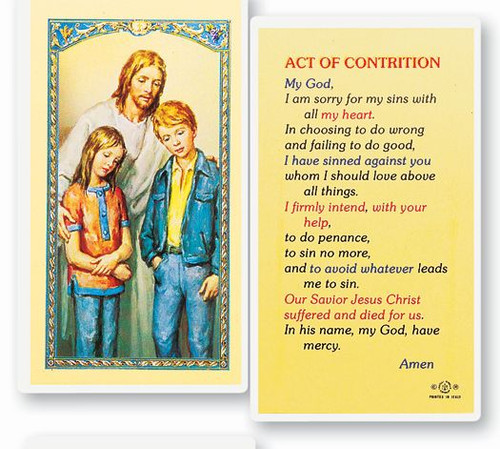 Comforter Act of Contrition