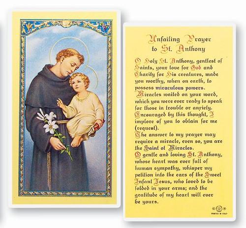 St. Anthony Unfailing Prayer