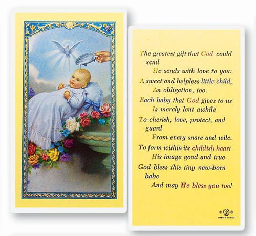 Baby Baptismal Prayer