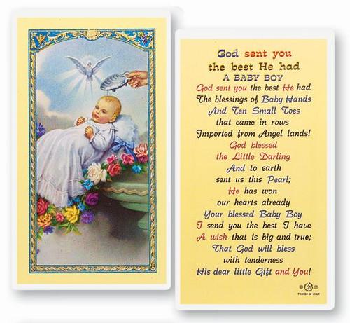 Boy Baptismal Prayer