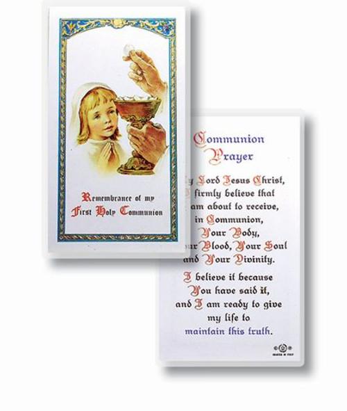 Girl First Communion Prayer