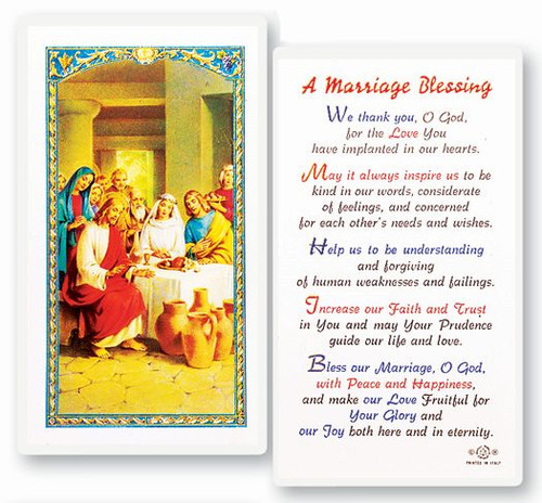 A Marriage Blessing Prayer