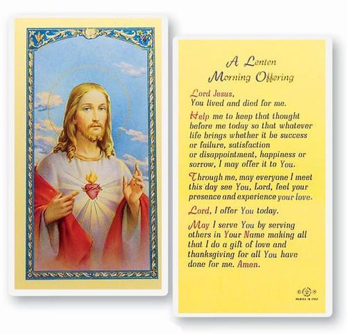 A Lenten Morning Prayer
