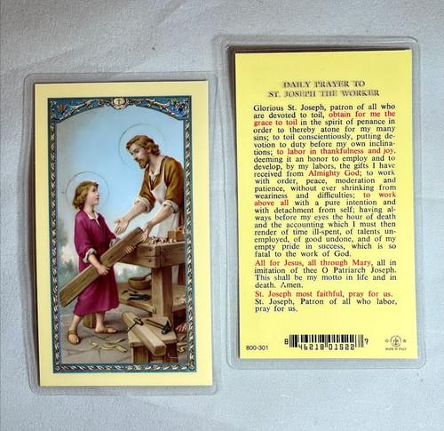 St. Joseph the Worker Prayer