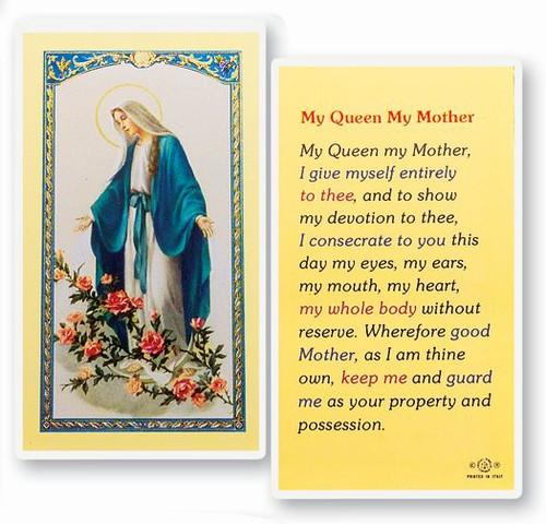 My Queen, My Mother Prayer