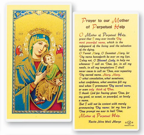 Our Lady of Perpetual Help Prayer