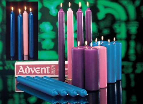 Advent Candle Church Sets